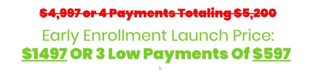 Ministry Of Freedom Payment Plan