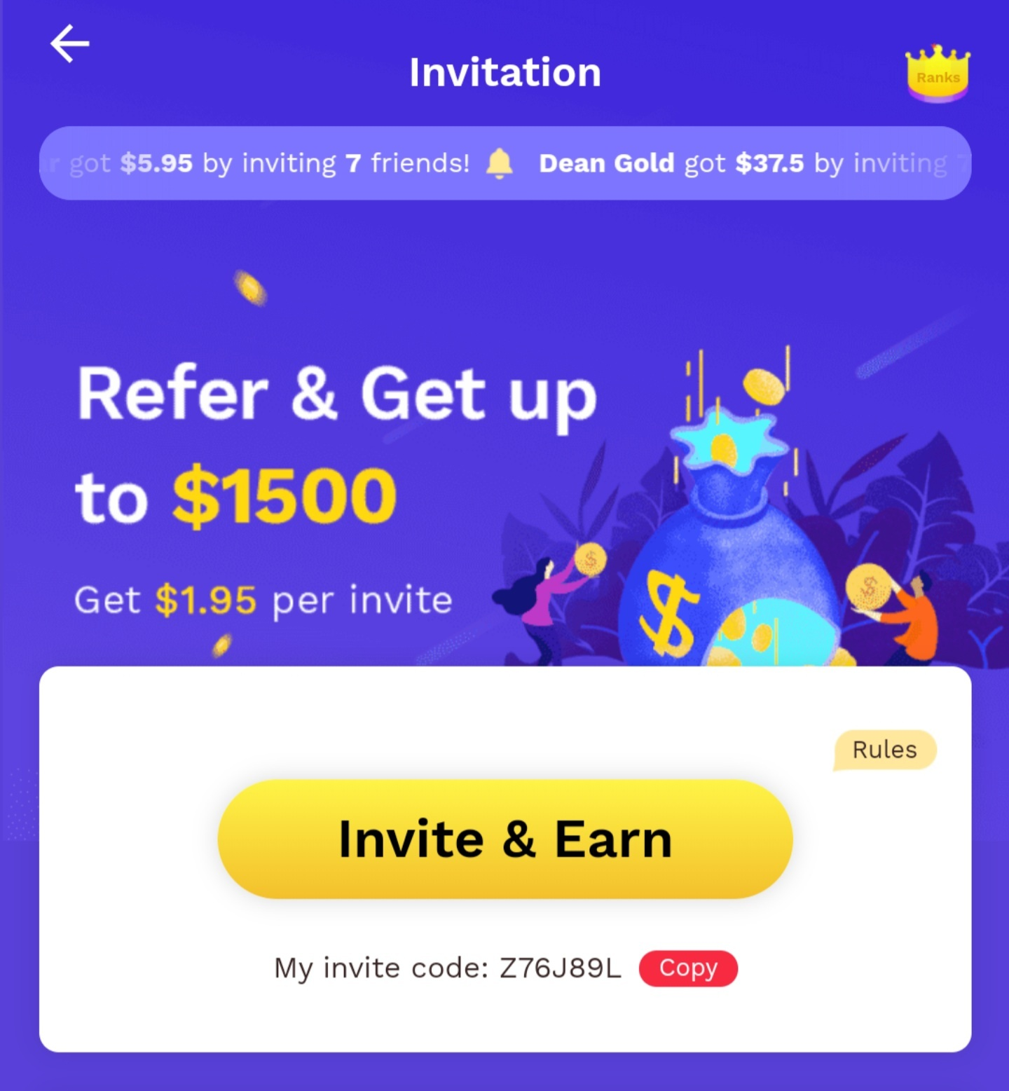 Refer & Get Up To $1500