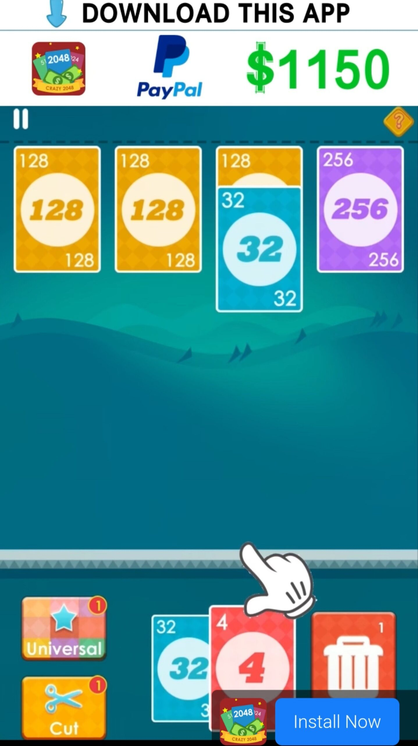Advert of 2048 Cards