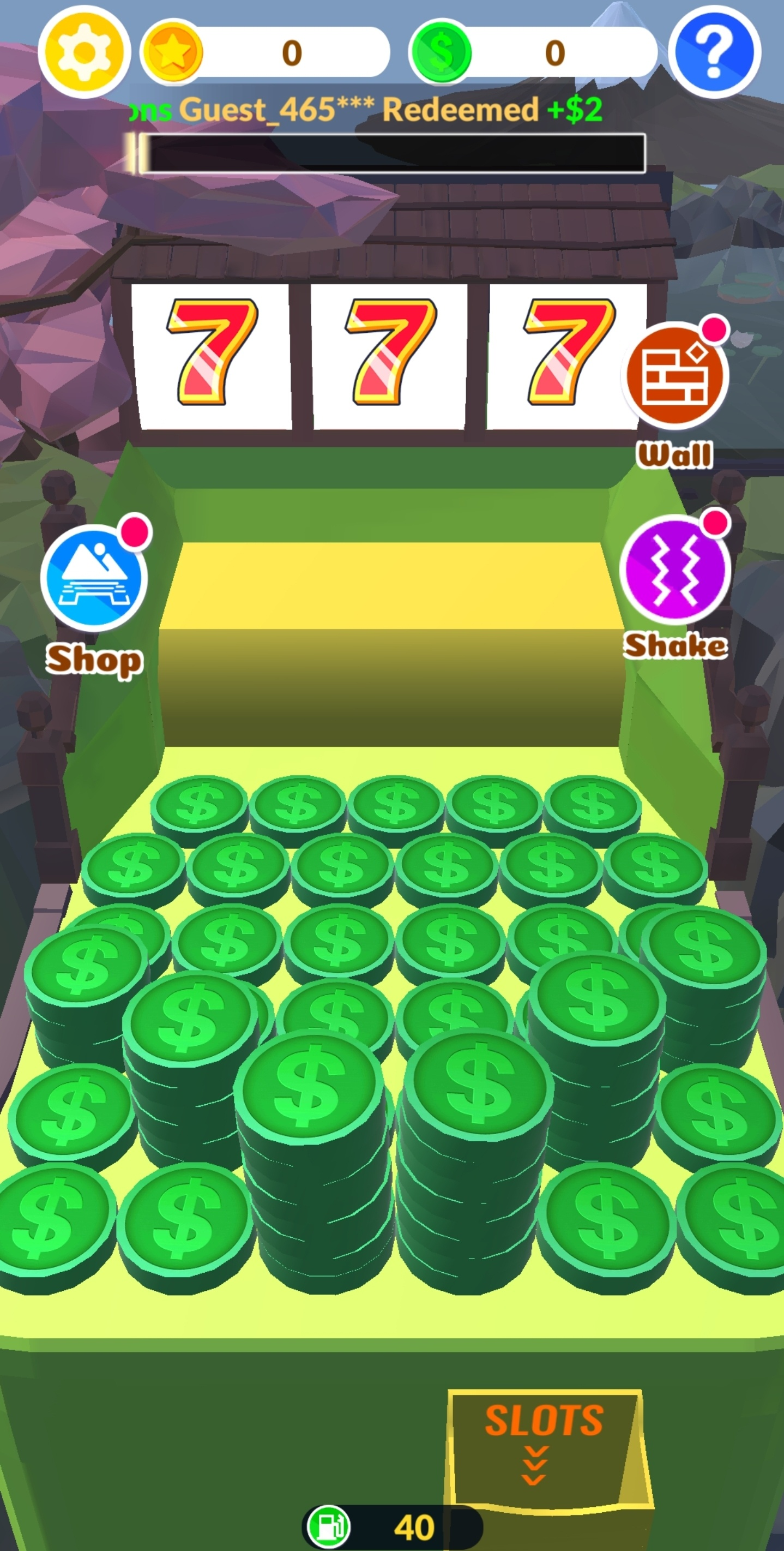 Another coin dozing game by Shape Keeper