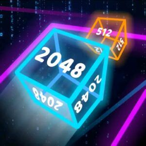 Neon Cubes 2048 Review