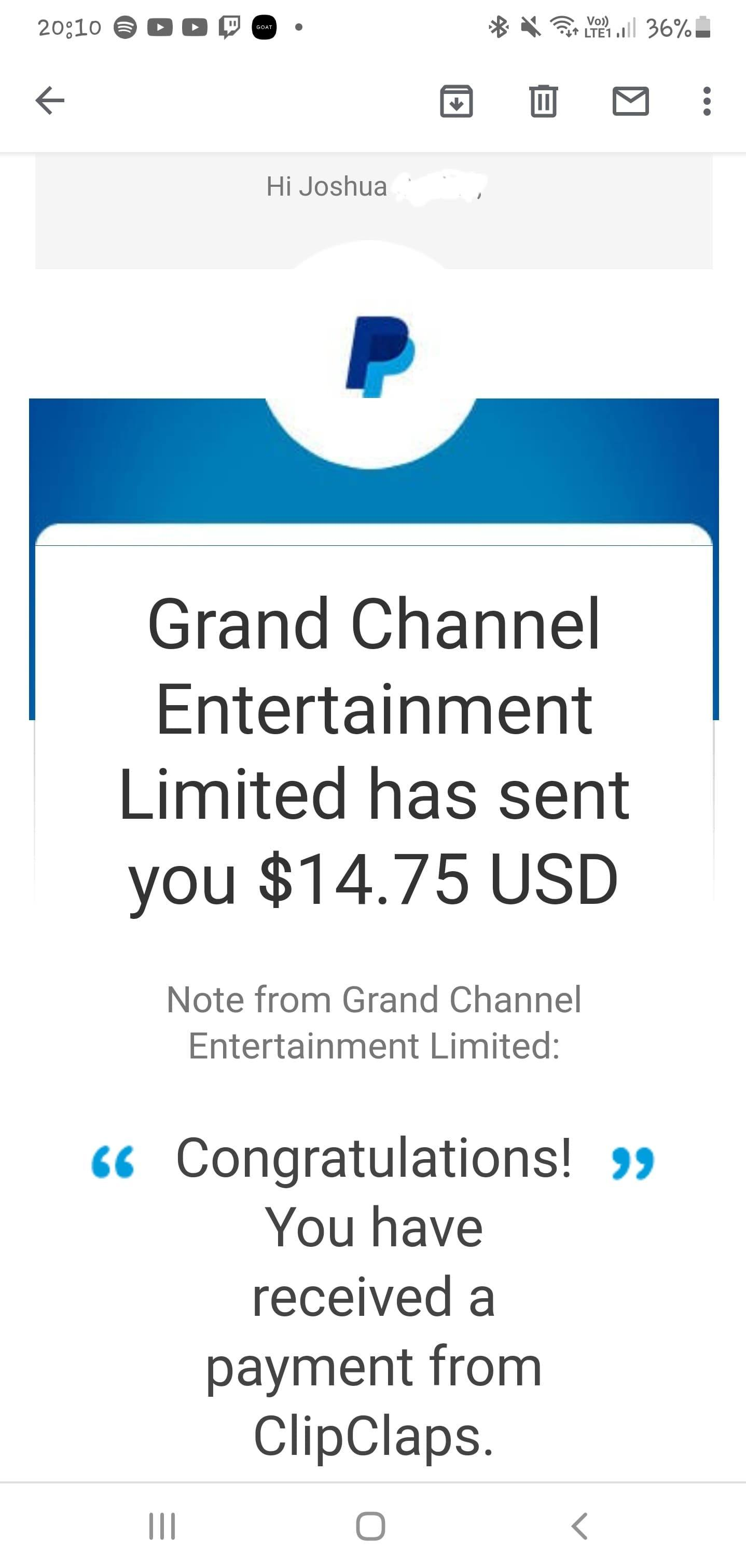 ClipClaps Game Payout