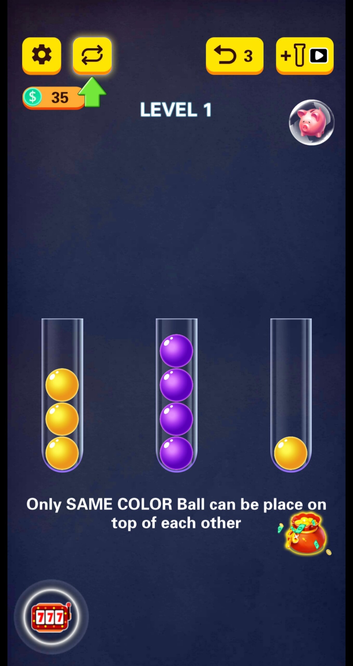 Ball Sort Puzzle gameplay