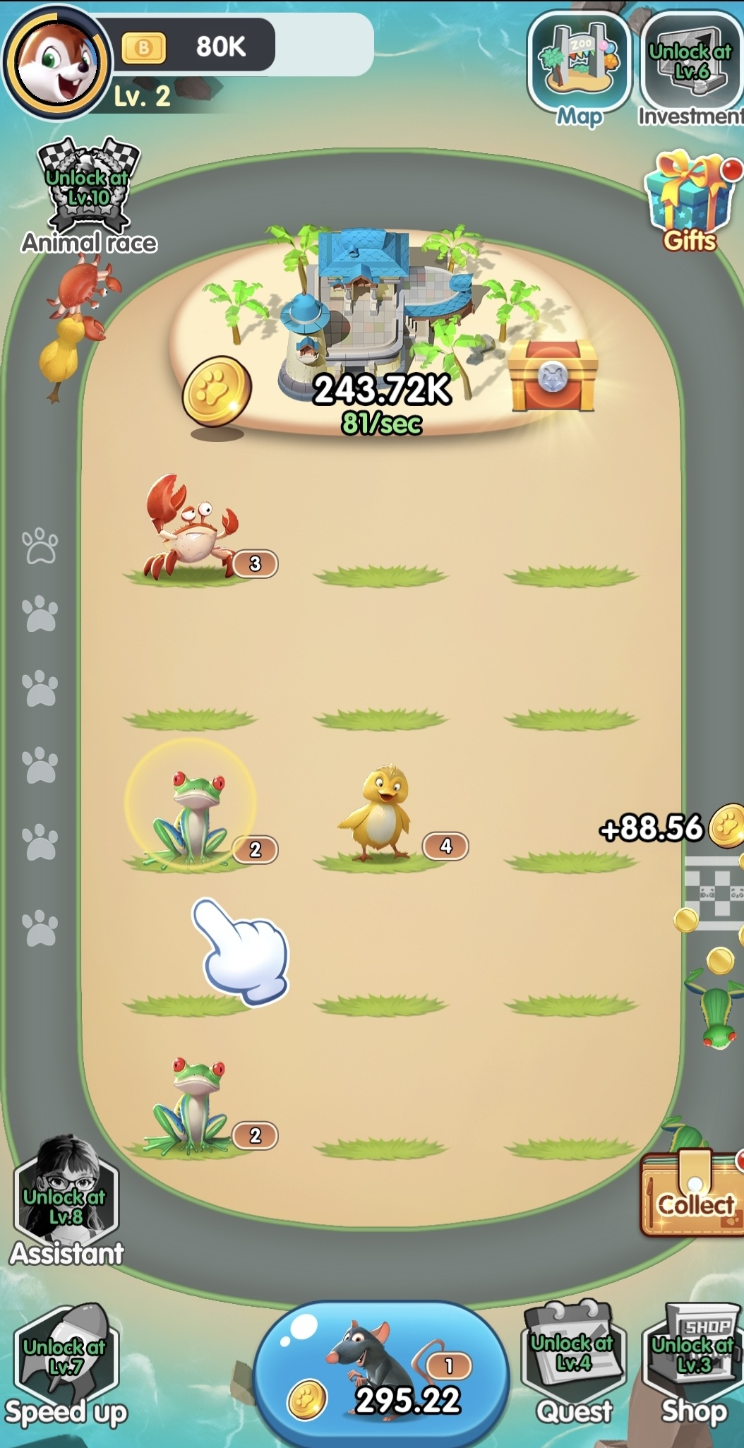 How to play Merge Animals Max