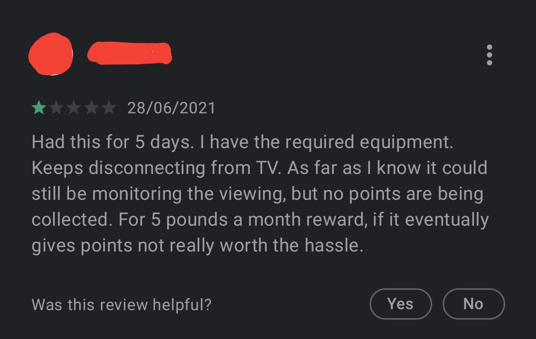Losing connection with the TV